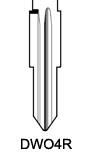 Profil lame DWO4R