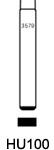 Profil lame HU100