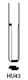 Profil lame HU43