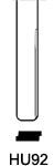Profil lame HU92