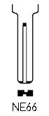 Profil lame NE66